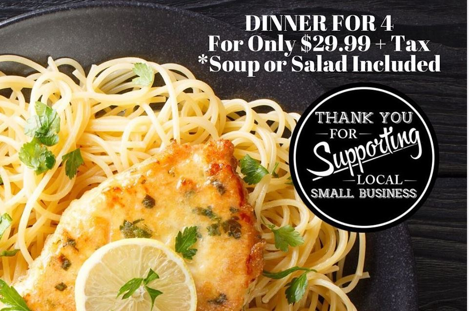 Family Dinner Specials Waterbury CT
