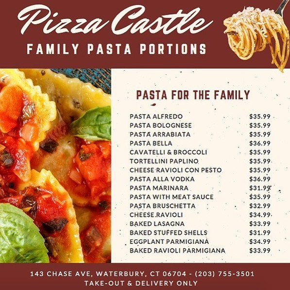 pasta for the family waterbury ct