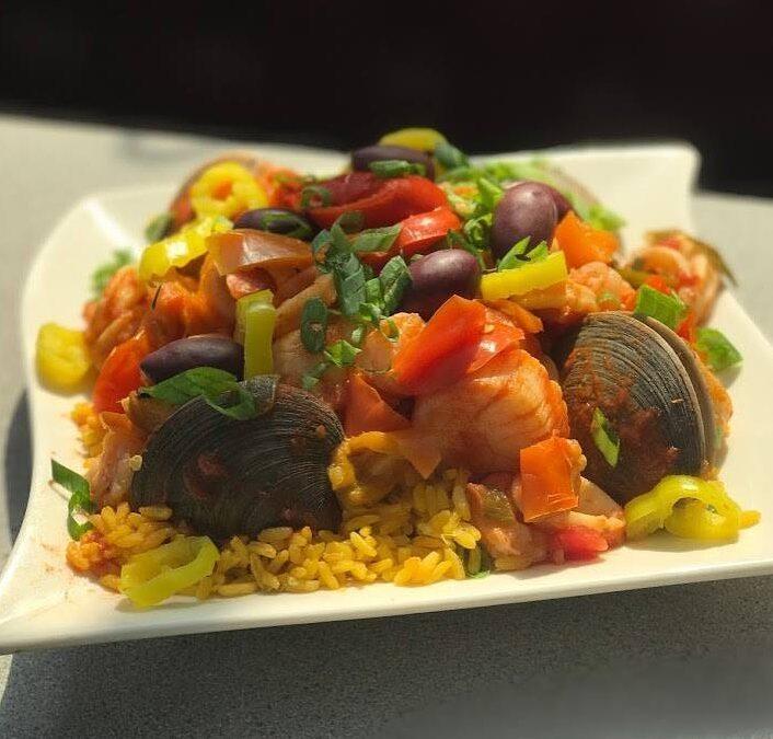 Seafood Paella Takeout Wolcott CT